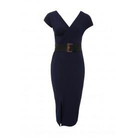 Платье LARK DRAPE BELTED JERSEY BODYCON LOST INK модель LO019EWHEL69