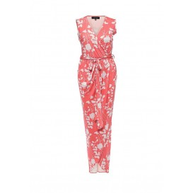 Платье AMBER PRINTED DRAPE MAXI WITH BELT DETAIL LOST INK модель LO019EWHEL70 распродажа