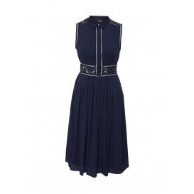 Платье KIRSTY LACE AND PLEAT DETAIL DRESS LOST INK модель LO019EWHEM14 распродажа