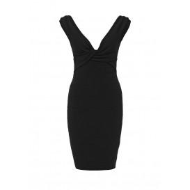 Платье OTB ROSY TWIST BARDOT BODYCON DRESS LOST INK артикул LO019EWHEM37 cо скидкой