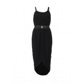 Платье ELLIE RUCHED TIE WAIST BODYCON DRESS LOST INK артикул LO019EWHJE65 распродажа