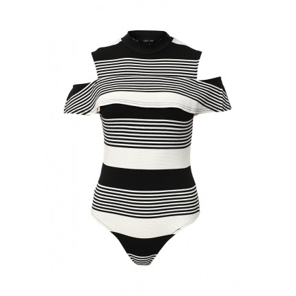 Боди STRIPE BANDEAU BODY LOST INK артикул LO019EWJOT29