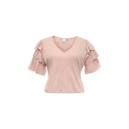 Блуза FRILL SLEEVE TOP LOST INK артикул LO019EWJOT32 распродажа