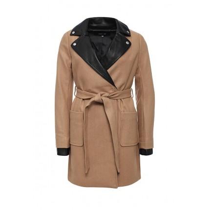 Пальто PU BIKER COLLAR COAT LOST INK модель LO019EWJOT76 купить cо скидкой