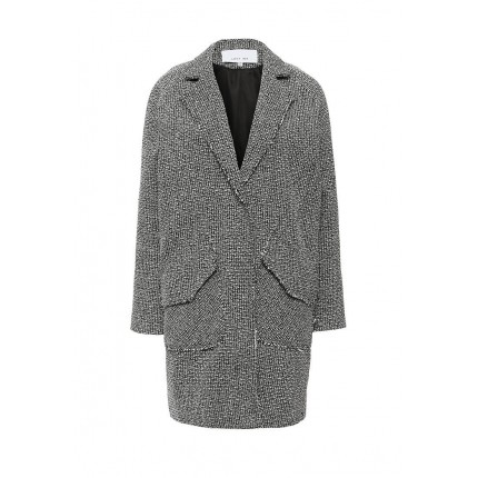 Пальто TWEED RAW EDGE COAT LOST INK артикул LO019EWJOT96 распродажа