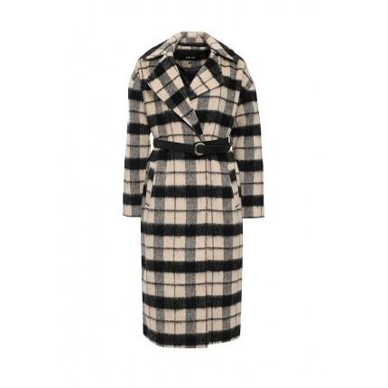 Пальто BRUSHED CHECK MAXI COAT LOST INK модель LO019EWJOU04 распродажа