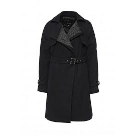 Пальто FABRIC MIX DRAPE TRENCH LOST INK модель LO019EWJOU07 cо скидкой