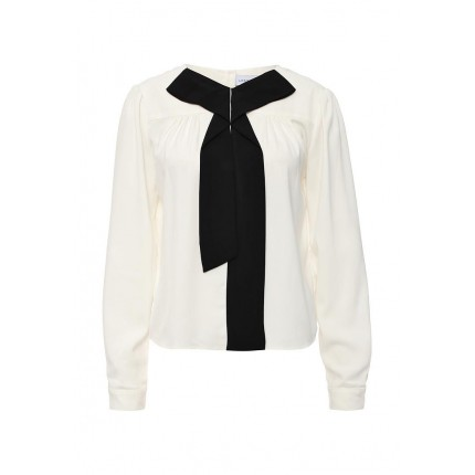 Блуза MANIPULATED BOW BLOUSE LOST INK артикул LO019EWJOU43 фото товара