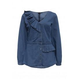 Рубашка джинсовая ASYM FRILL DENIM SHIRT LOST INK модель LO019EWJOU55