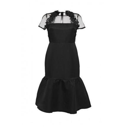 Платье MARIANNE DROP HEM EMBROIDERED LACE DRESS LOST INK модель LO019EWJOV98