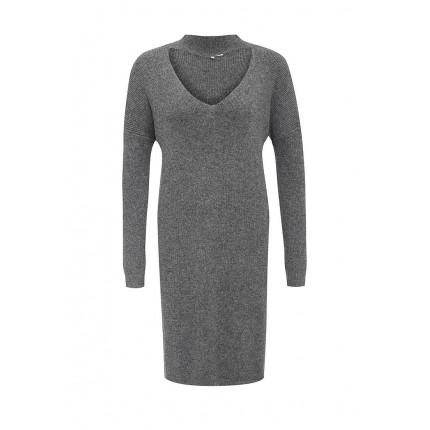 Платье THE V CUT OUT RELAXED DRESS LOST INK артикул LO019EWJOW97 распродажа