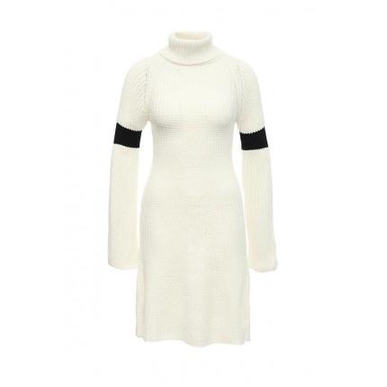 Платье THE STRIPE SLEEVE ROLL NECK DRESS LOST INK модель LO019EWJOW98 cо скидкой