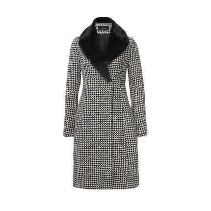 Пальто SHAWL COLLAR CHECK SKIRTED COAT LOST INK модель LO019EWJOX13 распродажа
