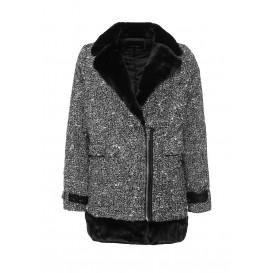 Пальто TWEED FUR LINED COAT LOST INK модель LO019EWJOX14 распродажа