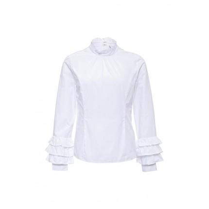 Блуза FRILL SLEEVE BLOUSE LOST INK артикул LO019EWLPM63