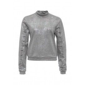 Свитшот IRIDESCENT METALLIC LACE DETAIL SWEAT LOST INK модель LO019EWMMU32 фото товара