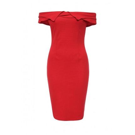 Платье SOAN FOLD BARDOT DRESS LOST INK артикул LO019EWMWW36 купить cо скидкой