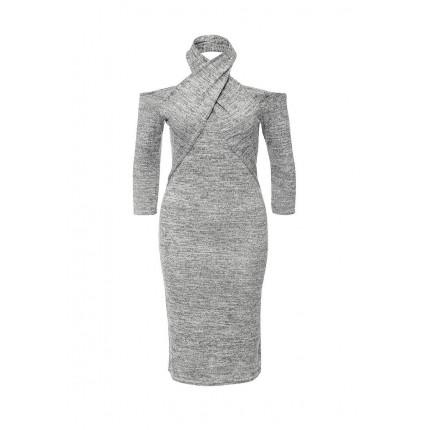 Платье MEAGAN TWIST HALTER DRESS LOST INK артикул LO019EWMWW66