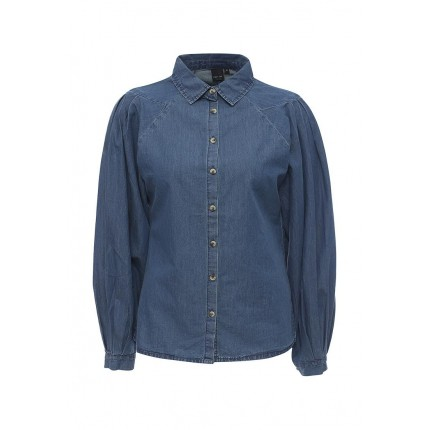 Рубашка джинсовая DENIM SHIRT WITH SEAM DETAIL SLEEVE LOST INK модель LO019EWNGB47 cо скидкой