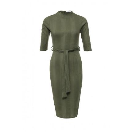 Платье RIB COLUMN LONG SLEEVE DRESS LOST INK артикул LO019EWNMH50 cо скидкой