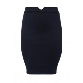 Юбка джинсовая Pencil Skirt In Denim With Elastic Back Lost Ink Curve