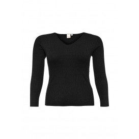 Пуловер V NECK JUMPER IN LUREX Lost Ink Curve
