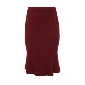 Юбка FLUTED HEM SKIRT WITH BUTTONS Lost Ink Curve
