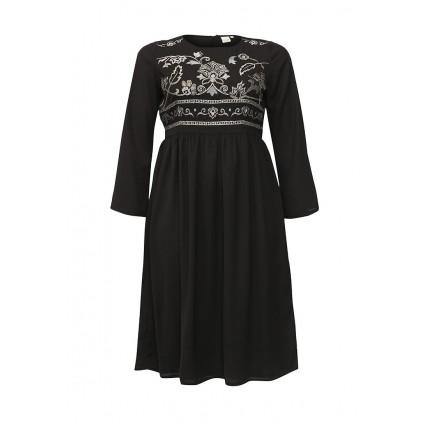 Платье EMBROIDERED TOP DRESS Lost Ink Curve артикул LO030EWNMH59 cо скидкой