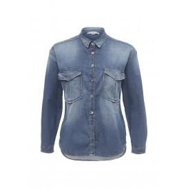 Рубашка джинсовая Please