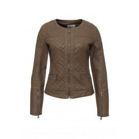 Куртка кожаная Softy артикул SO017EWMJU73 распродажа