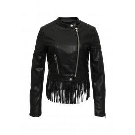 Куртка кожаная Softy артикул SO017EWMJU98 купить cо скидкой