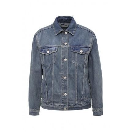 Куртка джинсовая Topshop артикул TO029EWMCF73 купить cо скидкой