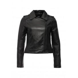 Куртка кожаная oodji модель OO001EWJYY53 распродажа