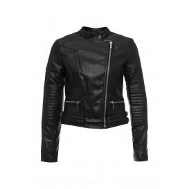 Куртка кожаная oodji модель OO001EWLQE90