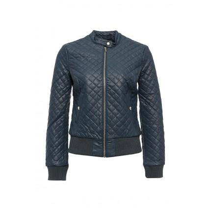 Куртка кожаная oodji модель OO001EWLQF15