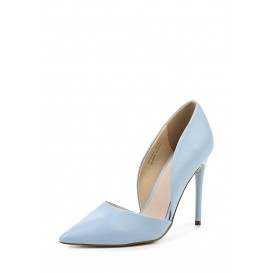 Туфли CLEO HIGH HEELED COURT LIGHT BLUE LOST INK