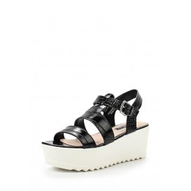 Сандалии NOAL GLADIATOR FLATFORM WEDGE SANDAL LOST INK артикул LO019AWGIT47