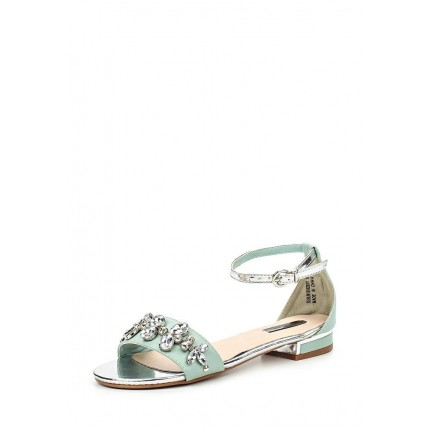 Сандалии NICHE JEWEL DETAIL FLAT SANDAL LOST INK модель LO019AWGMI67 фото товара