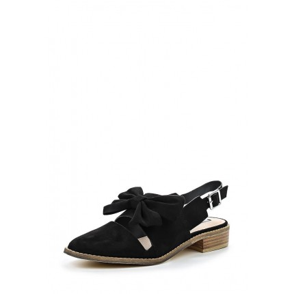 Сандалии BELL BOW TRIM SLINGBACK POINT SHOE - BLACK LOST INK модель LO019AWGMK22 фото товара