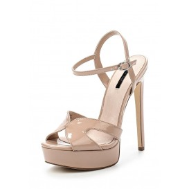 Босоножки RITZ HIGH PLATFORM SANDAL - NUDE LOST INK
