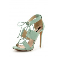 Босоножки ROISIN GHILLIE LACE HEELED SANDAL- SEA GREEN LOST INK