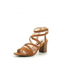 Босоножки ROSA MID BLOCK HEEL STRAPPY SANDAL LOST INK