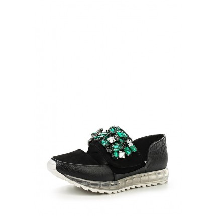 Кроссовки SPARKLE EMBELLISHED VELCRO STRAP PLIMSOLL LOST INK модель LO019AWGXN01