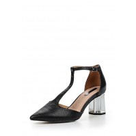 Туфли DAME SILVER HEEL MID BLOCK SHOE LOST INK