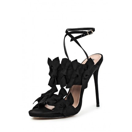 Босоножки DUSTIN BOW DETAIL HEELED SANDAL LOST INK артикул LO019AWJWL34