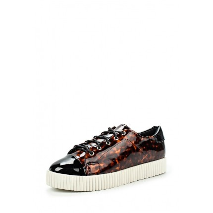 Кеды TRISH TOECAP CREEPER PLIMSOLL LOST INK модель LO019AWJZY33 cо скидкой