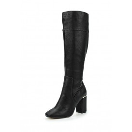Сапоги GILLY FLARE HEEL ZIP BACK KNEE-HIGH BOOT LOST INK артикул LO019AWJZY36 распродажа