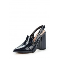 Туфли DONNIE SLING BACK BLOCK HEELED SHOE LOST INK