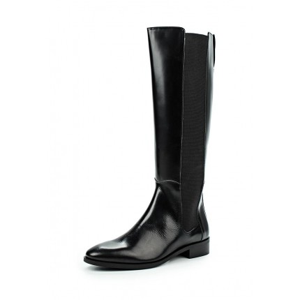 Сапоги GUSSET LEATHER KNEE BOOT LOST INK модель LO019AWKQJ32 фото товара