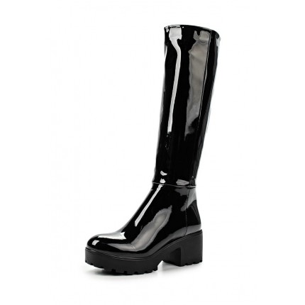 Сапоги GIA PATENT KNEE HIGH BOOT LOST INK артикул LO019AWKYP30
